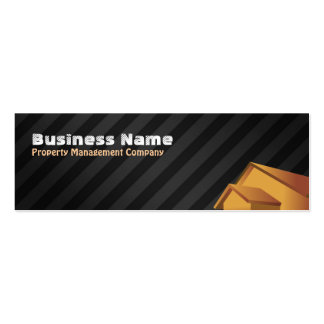 Property Management Company Skinny Business Cards