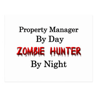 Property Manager/Zombie Hunter Post Card