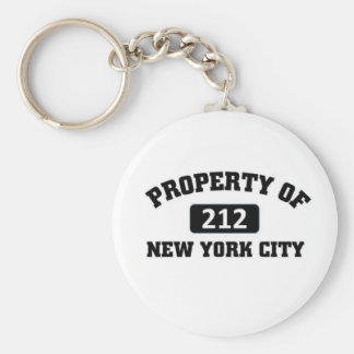 Property of 212 key ring
