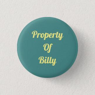 Property Of... 3 Cm Round Badge