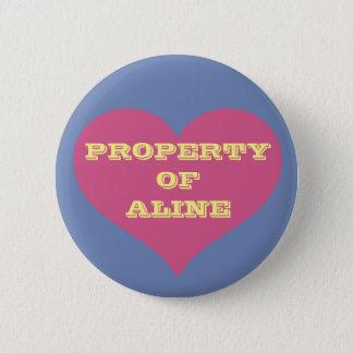 Property Of... 6 Cm Round Badge