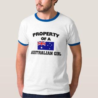 Property of a Australian Giirl T-Shirt