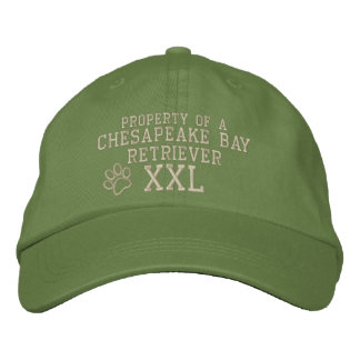 Property of a Chesapeake Bay Retriever Embroidered Hat