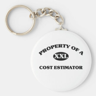 Property of a COST ESTIMATOR Key Chains