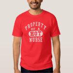 Property of a HOT Nurse Tee Shirt