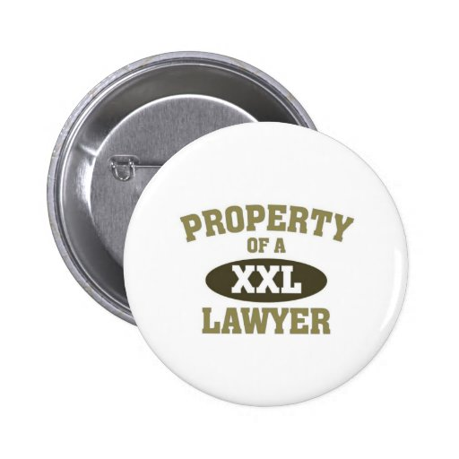 Property of a Lawyer Pins