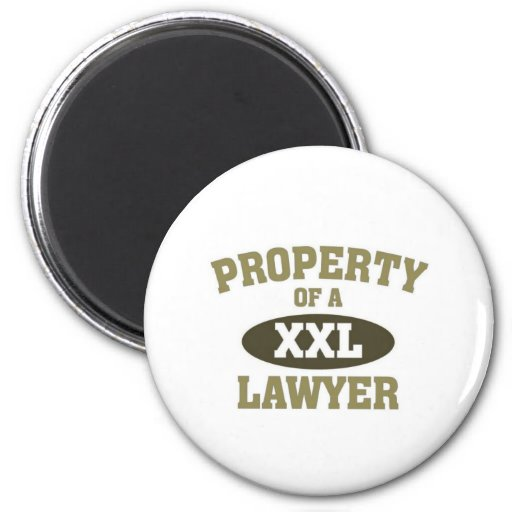 Property of a Lawyer Refrigerator Magnet