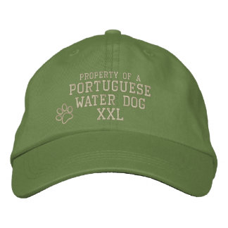 Property of a Portuguese Water Dog Embroidered Hat