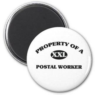 Property of a POSTAL WORKER Refrigerator Magnet