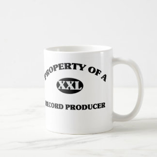 Property of a RECORD PRODUCER Coffee Mugs
