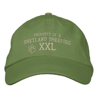 Property of a Shetland Sheepdog Embroidered Hat