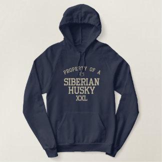 Property of a Siberian Husky Hoodie
