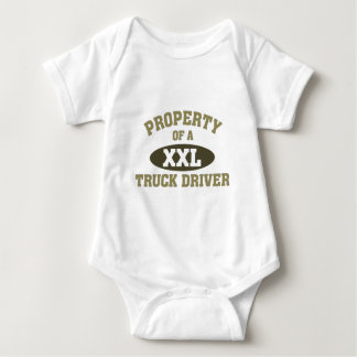 Property of a Truck Driver Baby Bodysuit