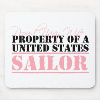 Property of a United States Sailor Mouse Pad