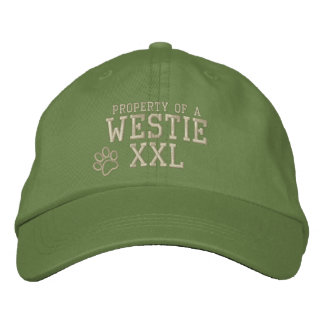 Property of a Westie Embroidered Hat