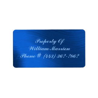 PROPERTY OF-ADDRESS LABEL