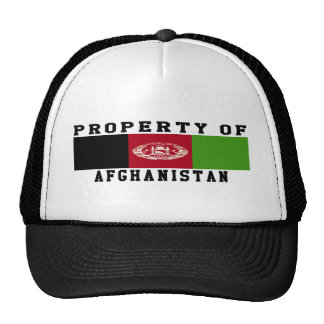 Property Of Afghanistan Mesh Hat