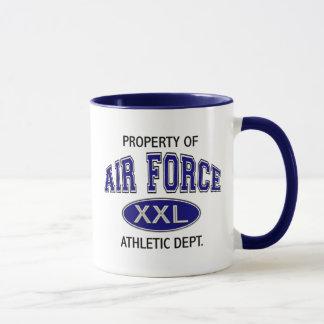 PROPERTY OF AIR FORCE ATHLETIC DEPT MUG
