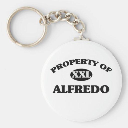 Property of ALFREDO Keychain