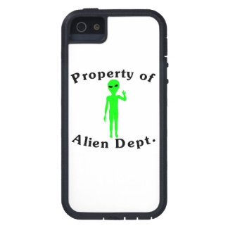Property Of Alien Dept Case For iPhone 5