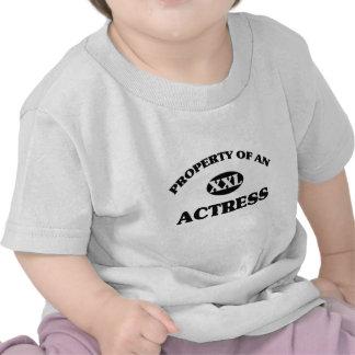 Property of an ACTRESS T-shirt