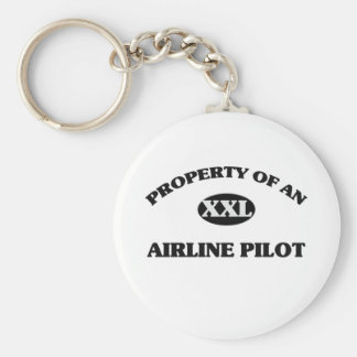 Property of an AIRLINE PILOT Keychains