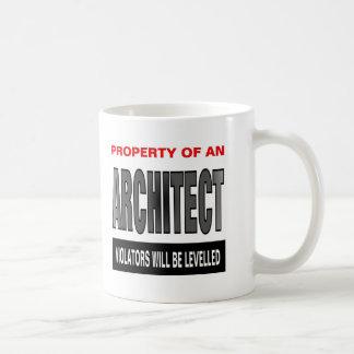 Property Of An Architect Coffee Mug
