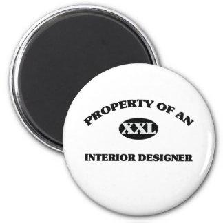 Property of an INTERIOR DESIGNER Magnets