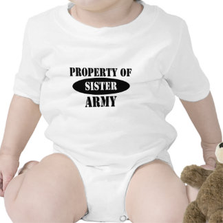Property of Army Sister Tees