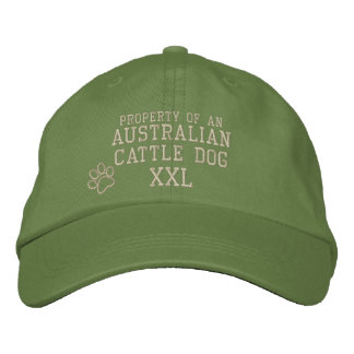 Property of Australian Cattle Dog Embroidered Hat