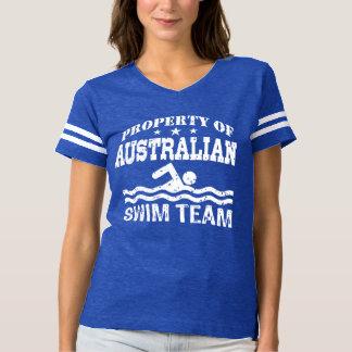 property of Australian Swim Team T-Shirt