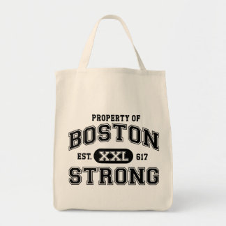 Property of Boston Strong Grocery Tote Bag