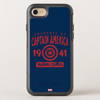 Property Of Captain America OtterBox Symmetry iPhone 8/7 Case