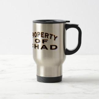 Property Of Chad Travel Mug