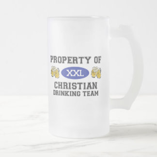 Property of Christian Drinking Team Coffee Mugs