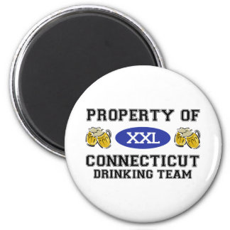 Property of Connecticut Drinking Team Magnet