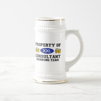 Property of Consultant Drinking Team Mugs