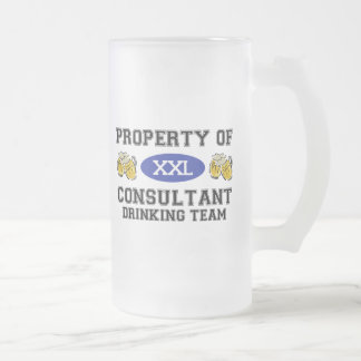 Property of Consultant Drinking Team Coffee Mugs