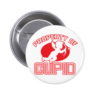 Property of Cupid Valentine s Day Button