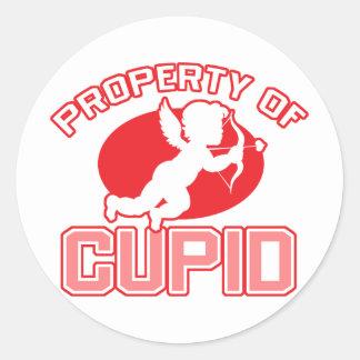 Property of Cupid Valentine s Day Sticker