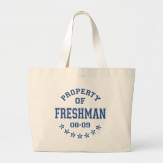 Property Of Freshman Canvas Bag