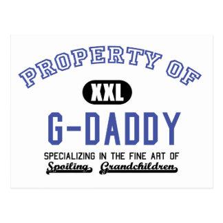 Property of G-Daddy Postcard