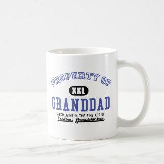 Property of Granddad Coffee Mugs