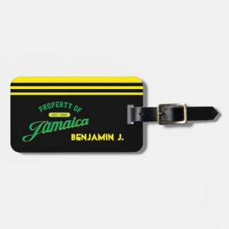 Property of Jamaica Bag Tag