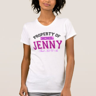 Property of Jenny T-Shirt