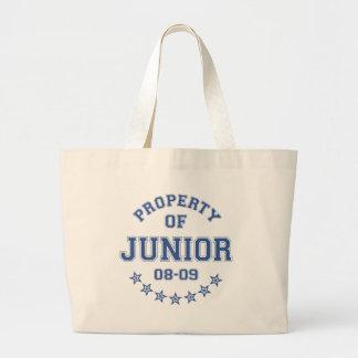 Property Of Junior Canvas Bag