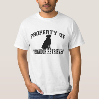 Property of Labrador retriever words w/silhouette T-Shirt