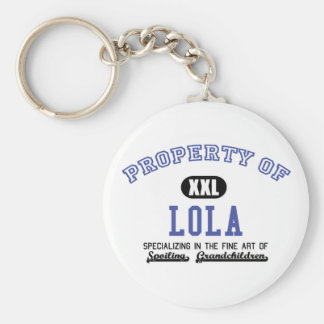 Property of Lola Key Ring