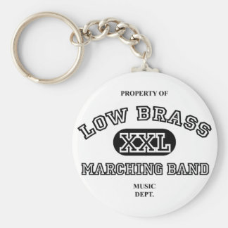 Property of Low Brass Key Ring