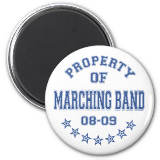 Property Of Marching Band Fridge Magnets